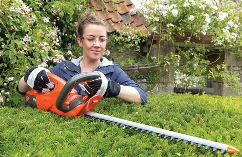 How To Trim Bushes With A Hedge Trimmer
