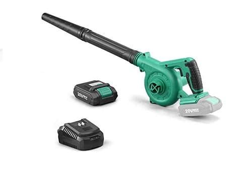 KIMO 2-in-1 Cordless Leaf Blower Vacuum Sweeper