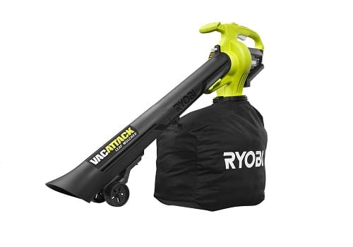 RYOBI Lithium-Ion Cordless Battery Leaf Vacuum Mulcher