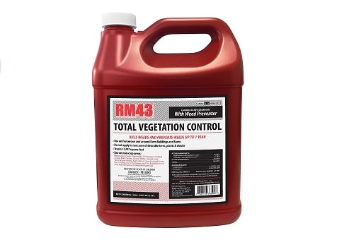 RM43 Glyphosate Plus Weed Preventer For Vegetation Control