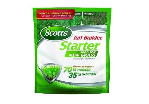 Scotts Turf Builder Lawn Fertilizer for New Grass