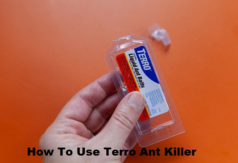 how to use Terro ant killer