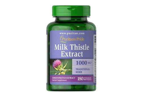 Puritans Pride Milk Thistle Extract 1000 Mg