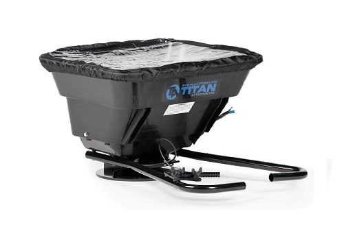 Titan Attachments 12 Volt ATV UTV Broadcast Spreader